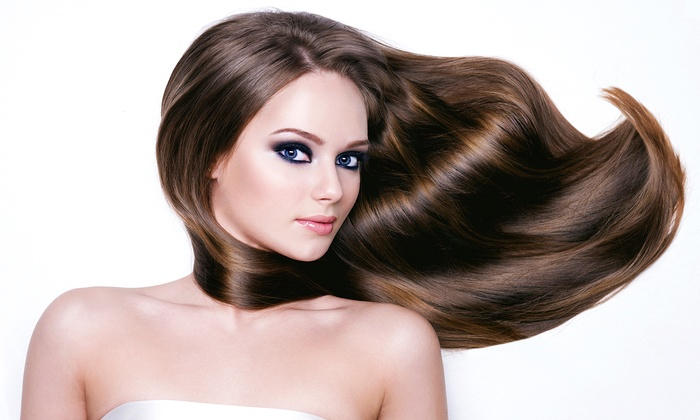 Janine Edmondson at Moriah Brandon's Salon d' Excellence - Altamonte Springs: Cut with Optional Touch-Up or Partial or Full Highlights at Moriah Brandon's Salon d' Excellence (Up to 57% Off)