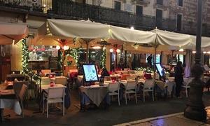 Teta de Giulieta (Verona): Menu pizza in piazza delle Erbe, con antipasto, dolce e birra per 2 o 4 persone da Teta de Giulieta (sconto fino a 65%)