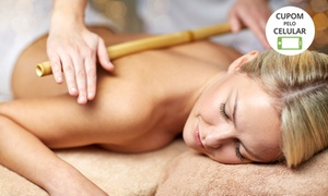 Equilibrium Estética e Saúde: 4, 8 ou 12 sessões de bambuterapia, massagem modeladora e ultrassom no Equilibrium Estética e Saúde – Pampulha