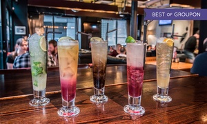 Bread and Butter Glasgow: Cocktails and Pizza for Two or Four at Bread and Butter Glasgow (Up to 63% Off)