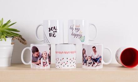 Mug personnalisable, magique ou coloré, avec Colorland dès 3,99 € (jusquà 69% de réduction)