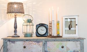 Glücksleben: Wertgutschein über 30, 40 oder 50 € anrechenbar auf Wohn-Accessoires, Bilder, Lampen und Möbel bei Glücksleben