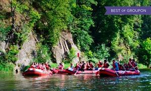 Ski Raft: Rafting w Bardzie: spływ kajakiem lub pontonem Przełomem Bardzkim od 49,99 zł w Ski-Raft (do -47%)