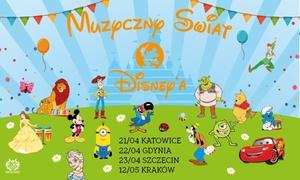 """Muzyczny Świat Disney'a: Od 29,99 zł: bilet na widowisko """"Muzyczny Świat Disney'a"""" – 4 miasta"""