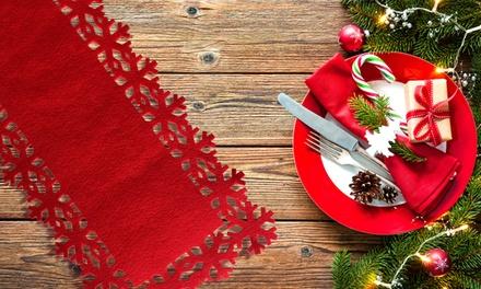 Christmas Snowflake Table Runner
