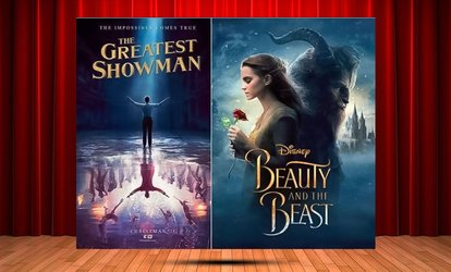 Beauty and The Beast or The Greatest Showman, 7 July and 22 September, Two Locations (Up to 61% Off)