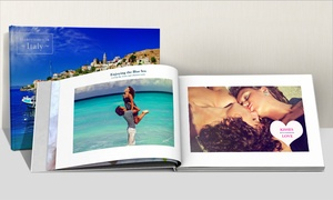 Printerpix: Up to Three 100-Page A4 Photobooks from Printerpix (Up to 76% Off)