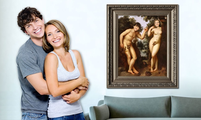 """myDaVinci: 8""""x10"""" or 16""""x20"""" Personalized Masterpiece Painting Print from myDaVinci (Up to 51% Off)"""