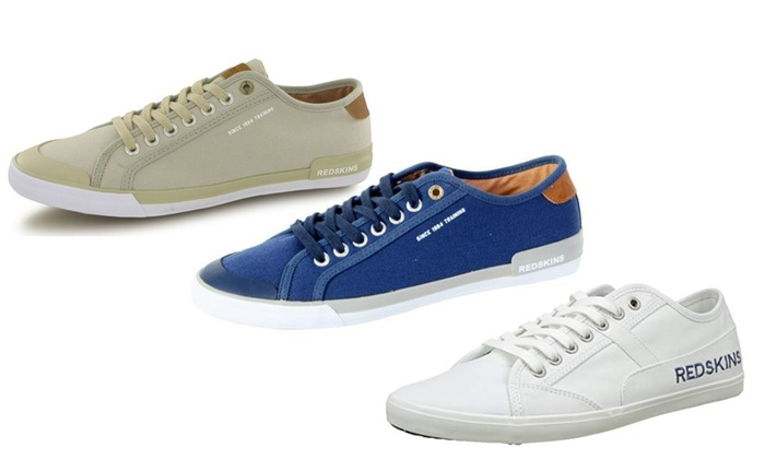 402eb729 Up To 19% Off Redskins Men's Canvas Sneakers | Groupon