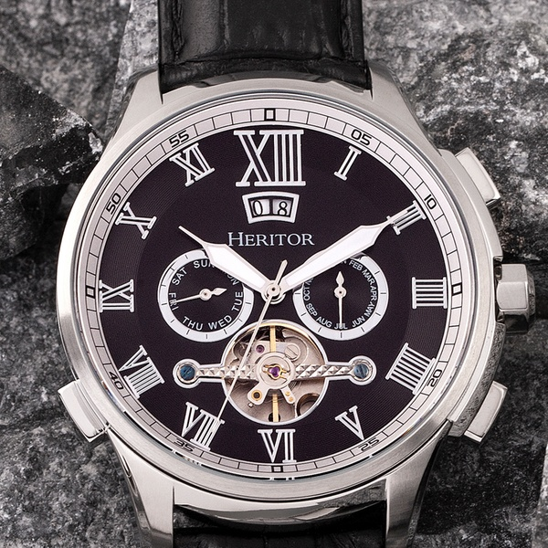 Heritor Automatic Men's Hudson Watch in Choice of Model With Free Delivery