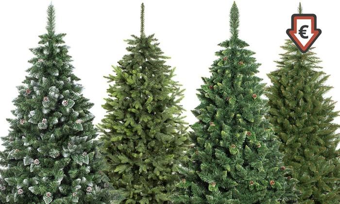 Sapin De Noël Artificiel Avec Ou Sans Led Groupon