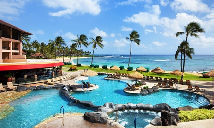 Stay for Two at 4-Star Sheraton Kauai Resort in Koloa, HI. Kids Stay Free. Dates into December.