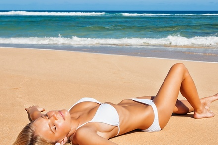 Two Weeks of Unlimited Tanning at TanQuest Sun Spas (68% Off)
