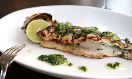 $70 for $100 Worth of Steak and Seafood at Parlor Steakhouse. Groupon Reservation Required.