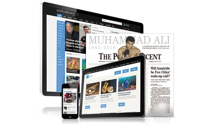 NewspaperSubscription and/or Digital Access to The Post Crescent (Up to 93% Off). Three Options Available.