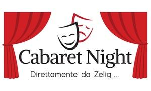 Cabaret Night, Comedy Ring - Genova: Cabaret Night - 16 e 17 settembre al Teatro Garage di Genova (sconto 50%)