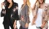 Lilly Posh Women's Bell Sleeve Kimono. Plus Sizes Available.