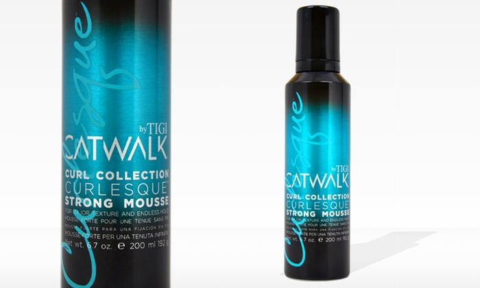 Catwalk Curl Collection Curlesque Strong Mousse: Catwalk Curl Collection Curlesque Strong Mousse (6.7 Fl. Oz.)