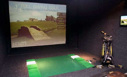 image for Indoor Golf with Nachos and Beer for Two of Four at The Green Manchester (Up to 70% Off)