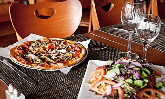 Pizza & Wine Bar @ Sliders - West Hollywood: $25 for $50 Worth of Pizza, Pasta, and Wine at Pizza & Wine Bar @ Sliders