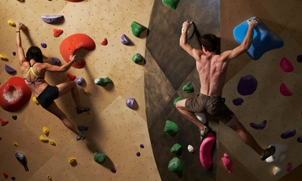$32 for Two-Day Pass with Equipment at Brooklyn Boulders ($88 Value)