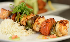 The Greeter's Corner: Grill Fare and Seafood for Two or Four at The Greeter's Corner (Up to 40% Off)