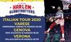 Harlem Globetrotters, a Varese, Genova e Verona