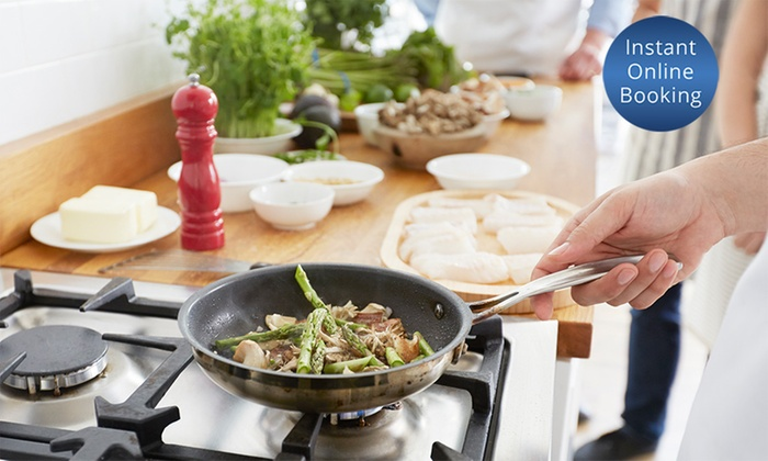 From $129 for Three-Hour Private Cooking Workshop at Customers' Home with The Marathon Chef (From $645 Value)