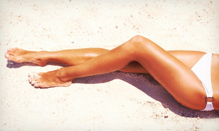 Salon Lusso - Hayden: One, Three, or Five Custom Spray Tans at Salon Lusso (Up to 75% Off)
