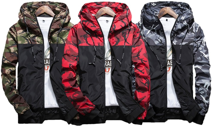 Camo Coupe Groupon Blouson Homme Shopping Vent H7vxxtqwn