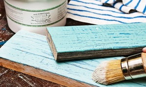 knot too shabby: Introductory Furniture-Painting Workshop for One or Two at Knot Too Shabby (Up to 52% Off)