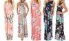 Women's Maxi Floral Dress: Women's Maxi Floral Dress