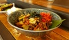 Menu avec entrée, plat et dessert au choix pour 2 personnes à 49,90 € au restaurant Gynza