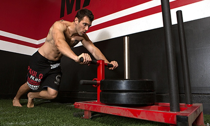 Training Ground OC - Costa Mesa: Four or Six Weeks of Semiprivate Personal Training at Training Ground OC (Up to 79% Off)