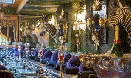 Gentlemen's Afternoon Tea with a Cocktail at The Crazy Bear £27.50 (60% off)