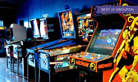 Retro Arcade Up Until 29 January at Future Artists Studios (Up to 41% Off)