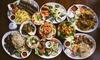 Menu aux saveurs libanaises