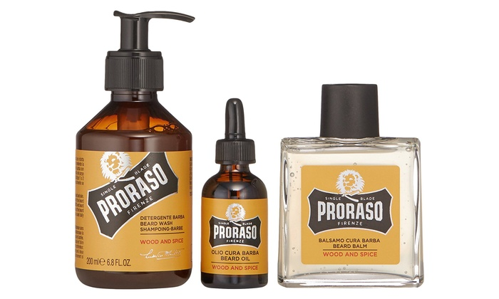hot product shop classic fit Kit per la barba Proraso | Groupon Goods