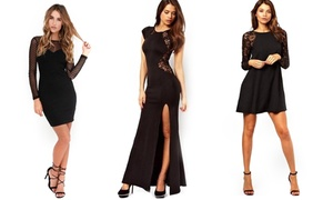 Women's Black Dresses at Women's Black Dresses, plus 8.0% Cash Back from Ebates.