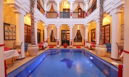 ✈ Marrakech : 3 ou 4 nuits avec petit déjeuner en riad de charme au départ de Paris BVA ou Marseille