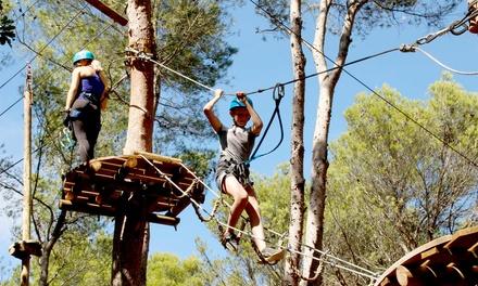 1, 2, 3 ou 4 entrées à l'Ecopark Adventure dès 16 € à l'Ecopark Adventures Monteclin