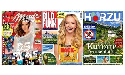 Jahres-Abo einer TV-Zeitschrift :1,99 €