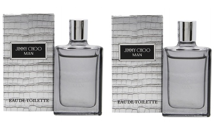 Jimmy Choo Men's 4.5ml Eau de Toilette TwoPack