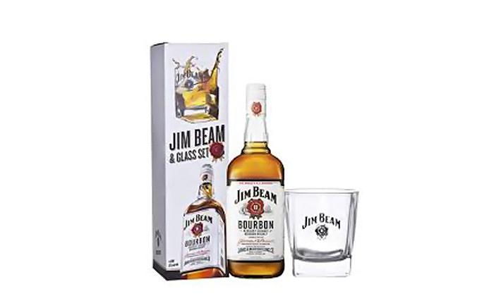Jim Beam Bourbon Gift Set