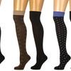 Noble Mount Women's Soft Premium Over The Knee Socks (2-Pairs)