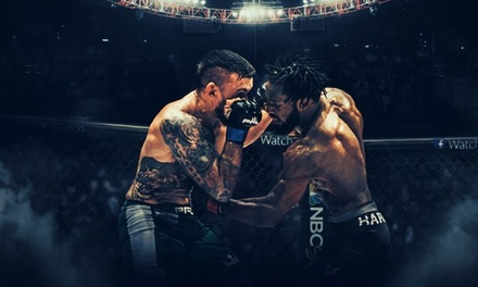 Professional Fighters League MMA on Saturday, October 20, at 6 p.m.