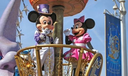 ✈ Disneyland Paris: Up to 4 Nights at a Choice of Hotels with 1Day 1Park Ticket and Return Flights*