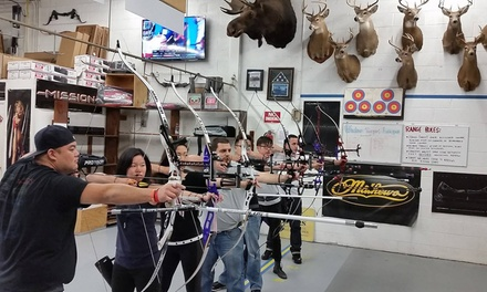 One-, Two-, or Four-Person Archery Lesson Package at Queens Archery (Up to 57% Off)