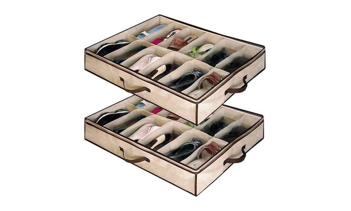 Organizador de zapatos bajo cama groupon - Organizador de zapatos ...