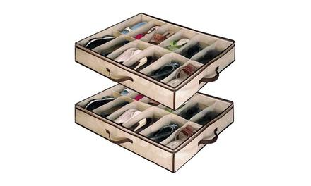 Organizador de zapatos bajo cama groupon goods - Organizador de zapatos ...